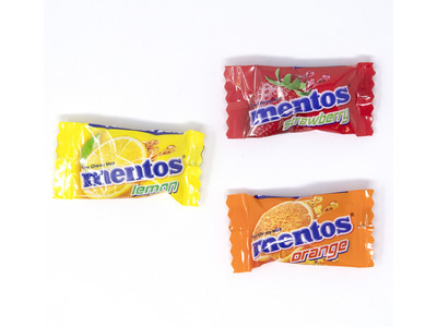 Mentos Fruit, Individually Wrapped 20lb
