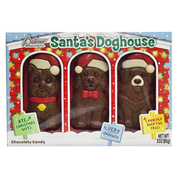 Milk Chocolate Flavored Santa's Doghouse 18/3oz
